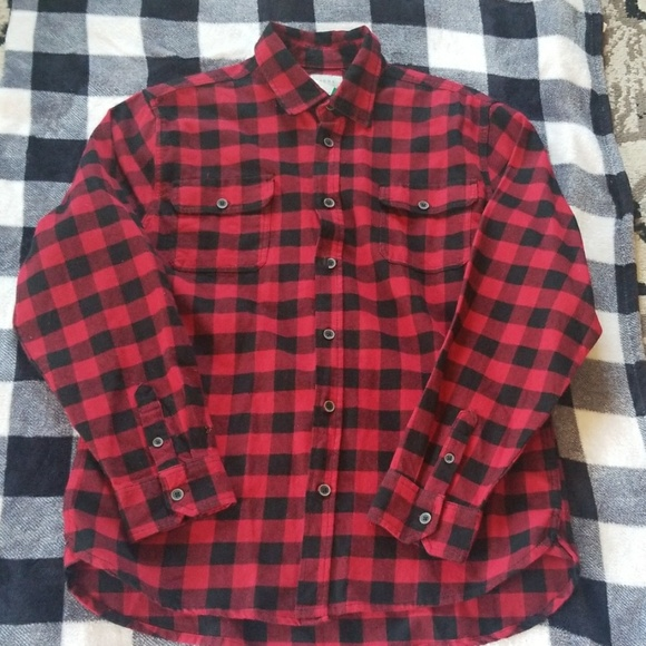 Jachs Other - RED AND BLACK JACHS FLANNEL